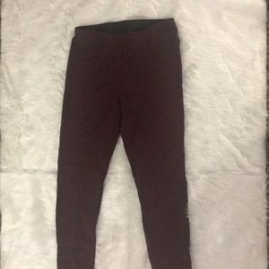 Women's Skinny Slacks Burgundy